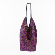 Bright Purple | Jhola Bag