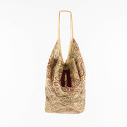 Gold Maroon | Jhola Bag