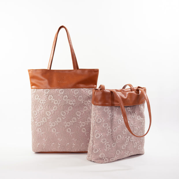 Urban Earth Collection: Rose Lace | Flip & Fold Bags