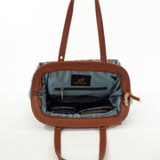 Sky Blue Full Leaf | Scottish Tartan Bags