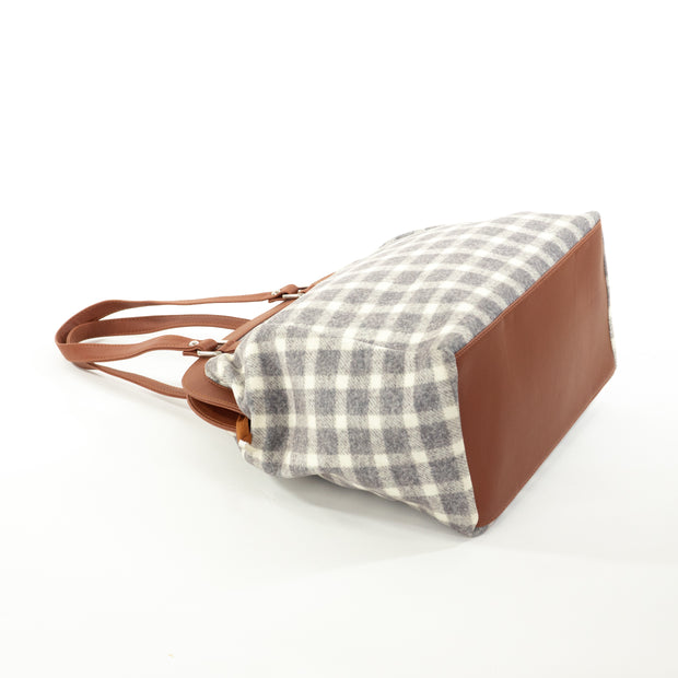 Grey Square | Scottish Tartan Bags