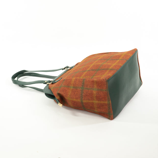 Urban Earth Collection: Olive Rust | Scottish Tartan Bags