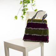 Purple Forest | Boho Frill Bag