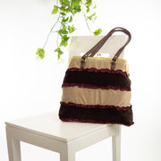 Choco Delight | Boho Frill Bag