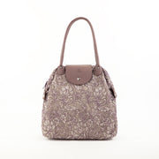Silver Lavender | Lace Bag