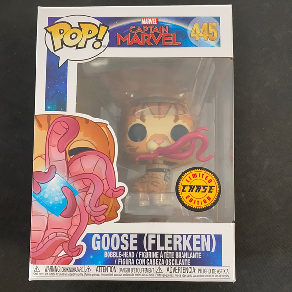 Funko Pop! Captain Marvel: Goose (Flerken) (Chase) #445