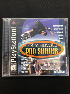 PS1: Tony Hawk's Pro Skater
