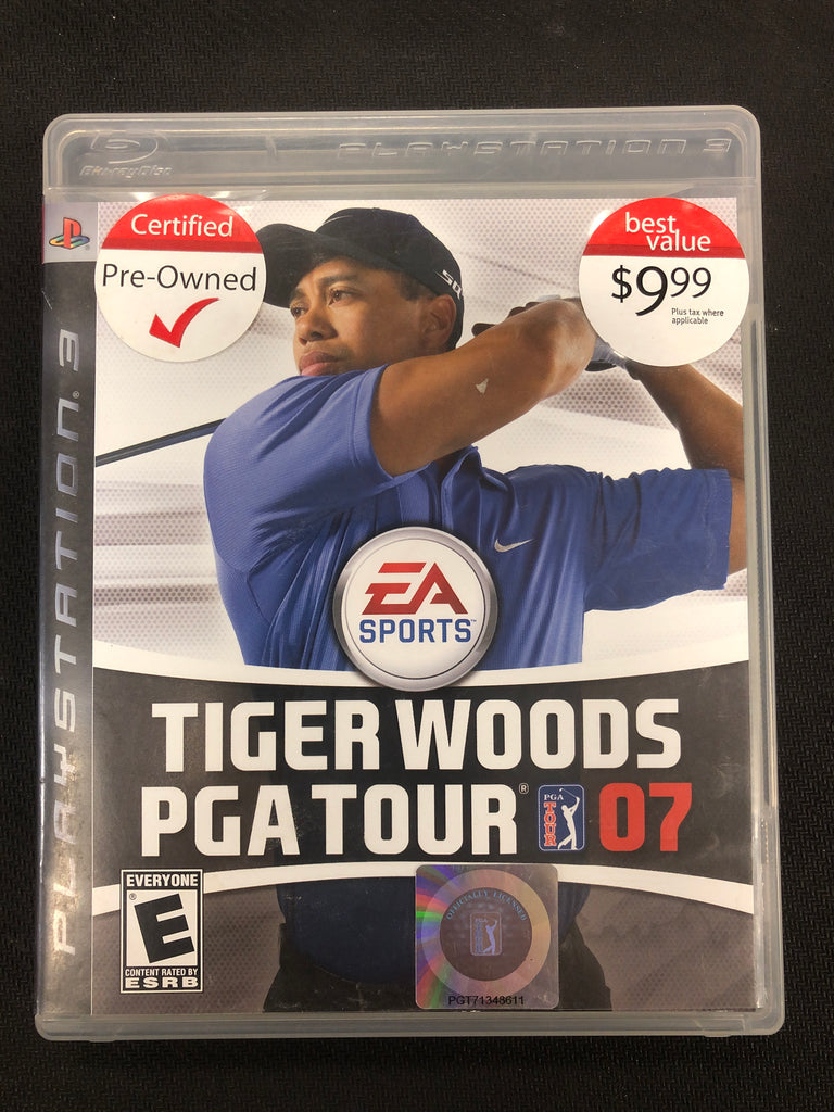 PS3: Tiger Woods PGA Tour 07
