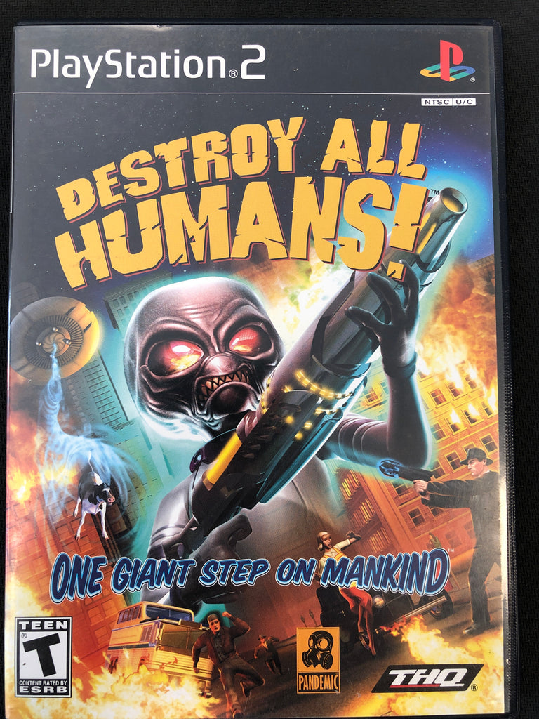 PS2: Destroy all Humans (Missing manual)