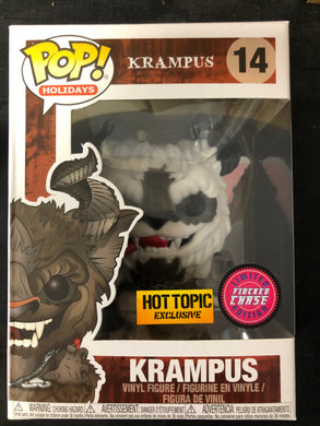 Funko Pop! Krampus (Flocked) (Chase) #14