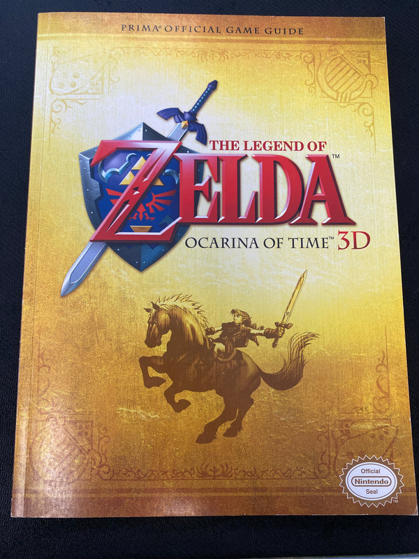 3DS: The Legend of Zelda: Ocarina Of Time 3D Guide
