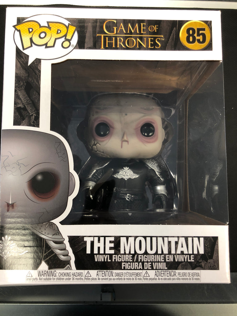 Funko Pop! Game of Thrones: The Mountain (Unmasked) 6""