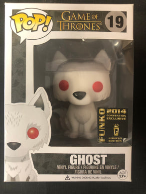 Funko Pop! Game of Thrones: Ghost (Flocked)  #19