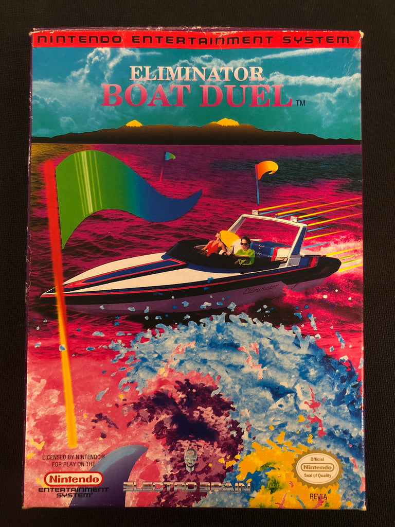 NES: Eliminator Boat Duel (Boxed)