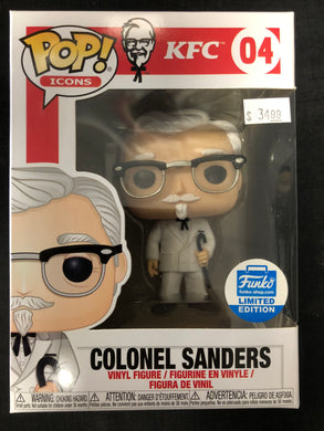 Funko Pop! Colonel Sanders with Cane #04