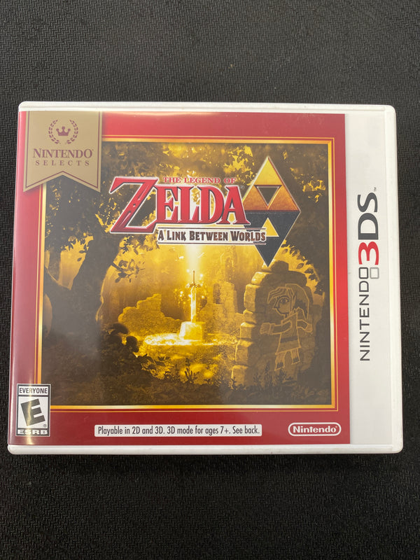 3DS: The Legend of Zelda: A Link Between Worlds (Nintendo Selects)
