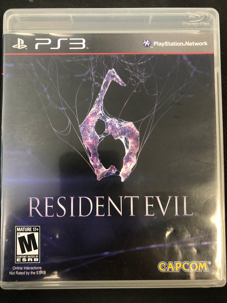 PS3: Resident Evil 6 (Missing Manual)