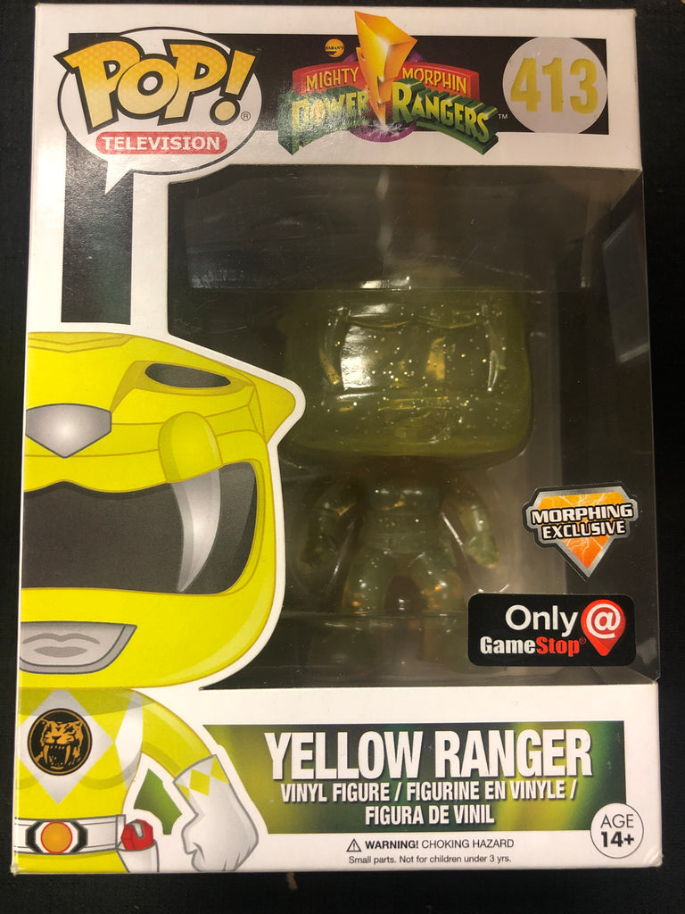 Funko Pop! Power Rangers: Yellow Ranger #413