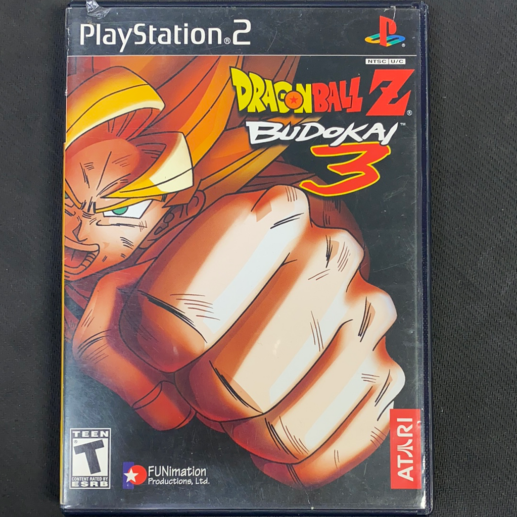 PS2: Dragonball Z: Budokai 3 (Missing Manual)