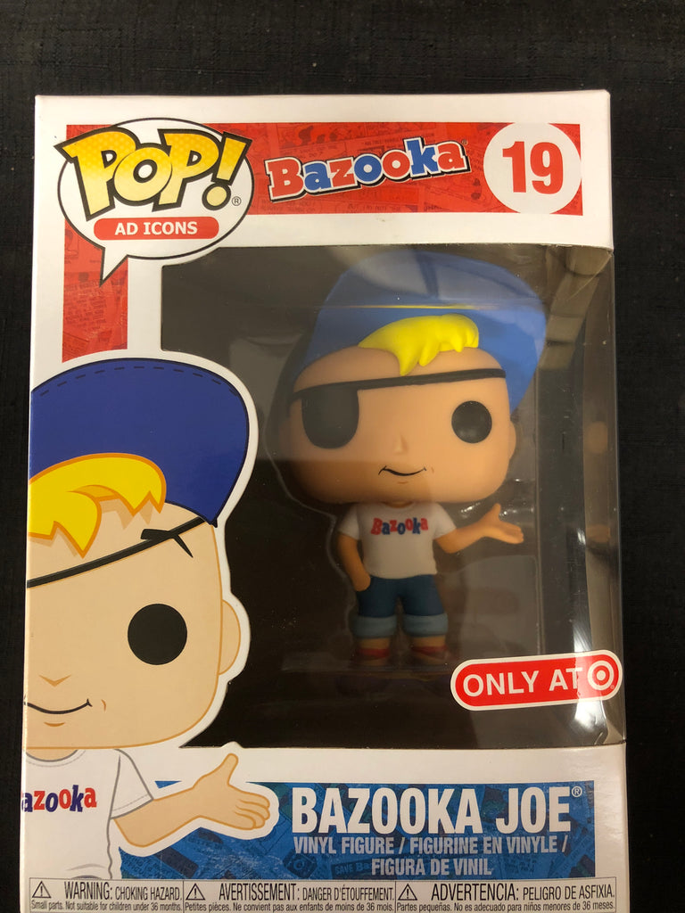 Funko Pop! Ad Icon: Bazooka Joe #19