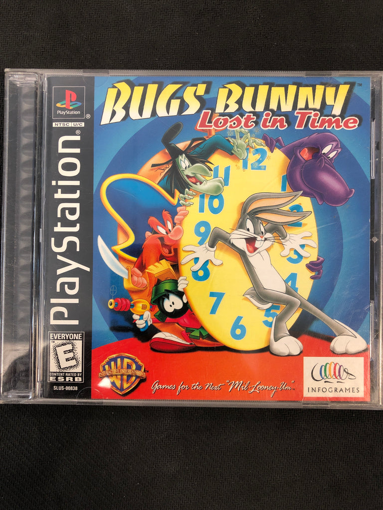 PS1: Bugs Bunny: Lost in Time