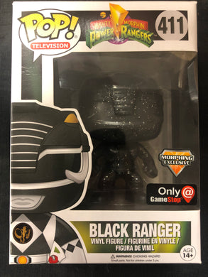 Funko Pop! Power Rangers: Black Ranger #411