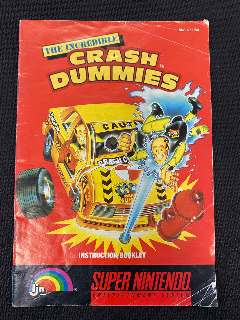 SNES: The Incredible Crash Dummies (Manual Only)