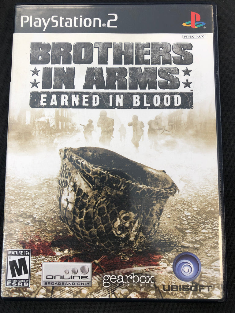PS2: Brothers In Arms Earned In Blood