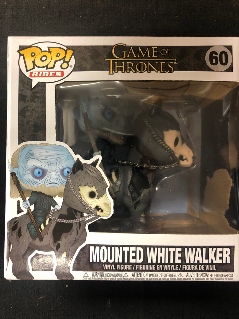 Funko Pop! Game of Thrones: Mounted White Walker #60