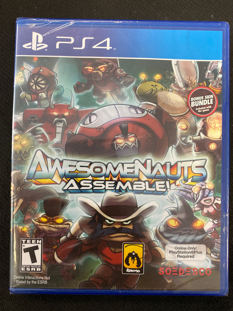 PS4: Awesomenauts Assemble (Brand New)