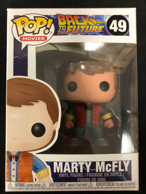 Funko Pop! Back to the Future: Marty McFly #49