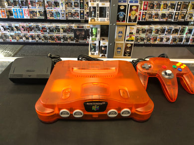 N64: Original Orange N64 Console (Refurbished)