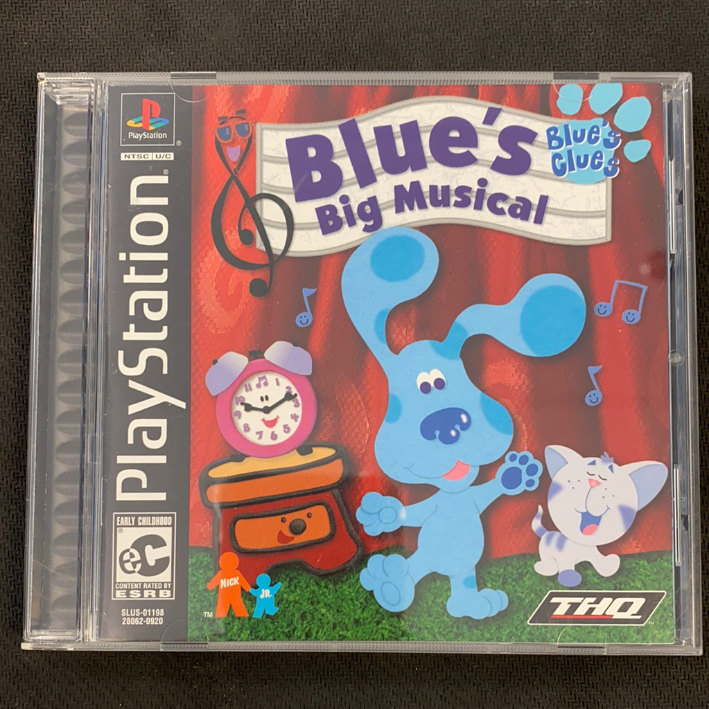 PS1: Blue's Clues Blue's Big Musical