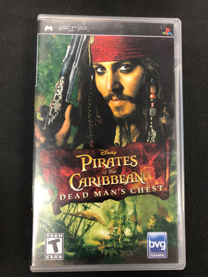 PSP: Pirates of the Caribbean: Dead Man's Chest