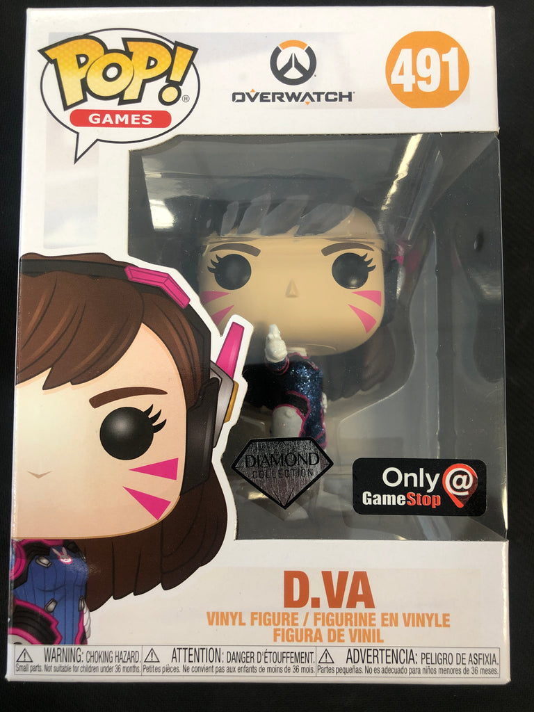 Funko Pop! Overwatch: D.VA (Diamond) #491