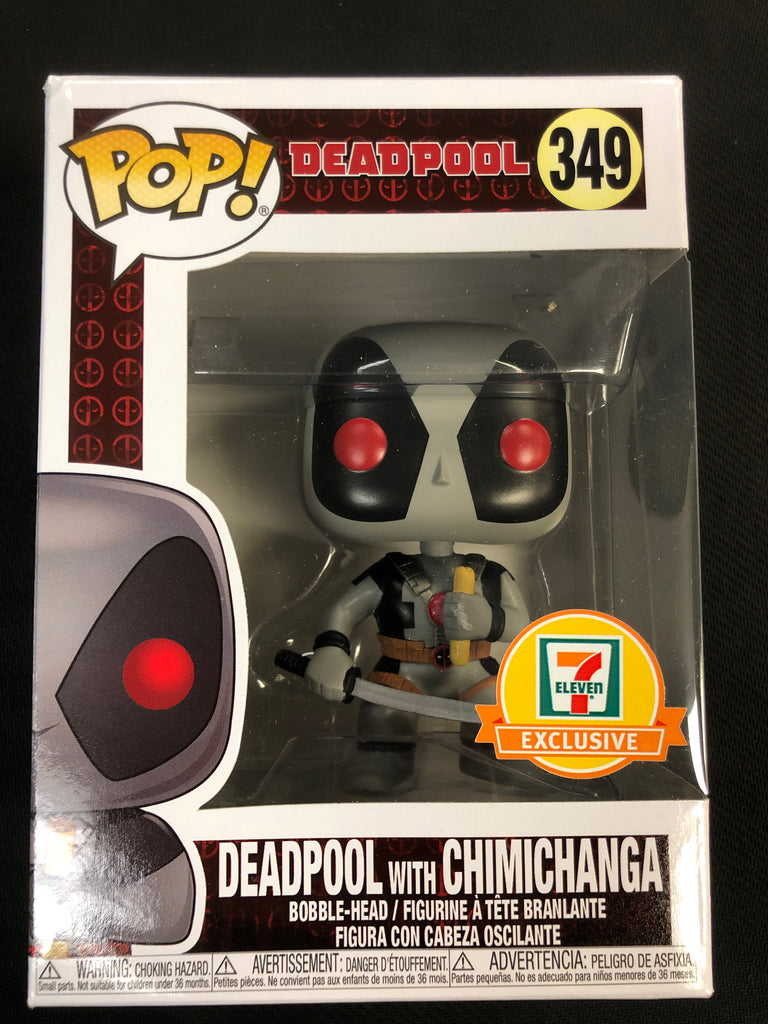 Funko Pop! Deadpool with Chimichanga #349