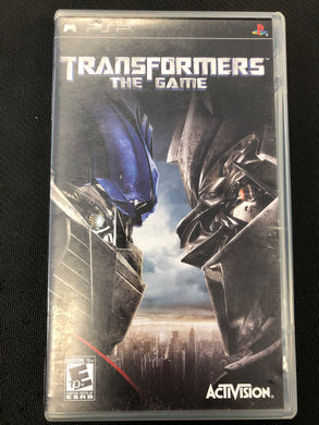 PSP: Transformers the Game