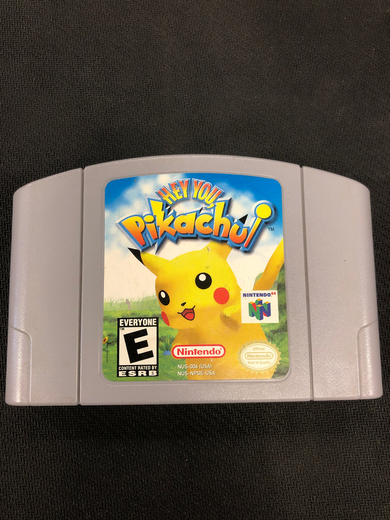 N64: Hey You Pikachu