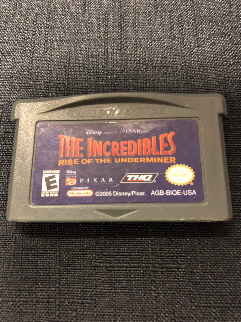 GBA: The Incredibles Rise of the Underminer