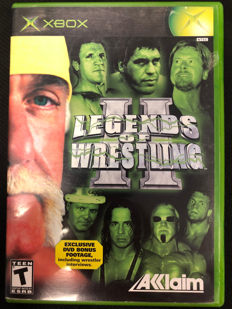 Xbox: Legends of Wrestling II