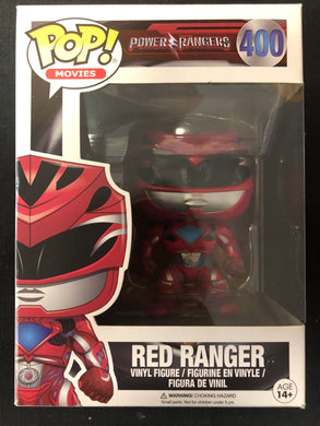 Funko Pop! Power Rangers: Red Ranger #400