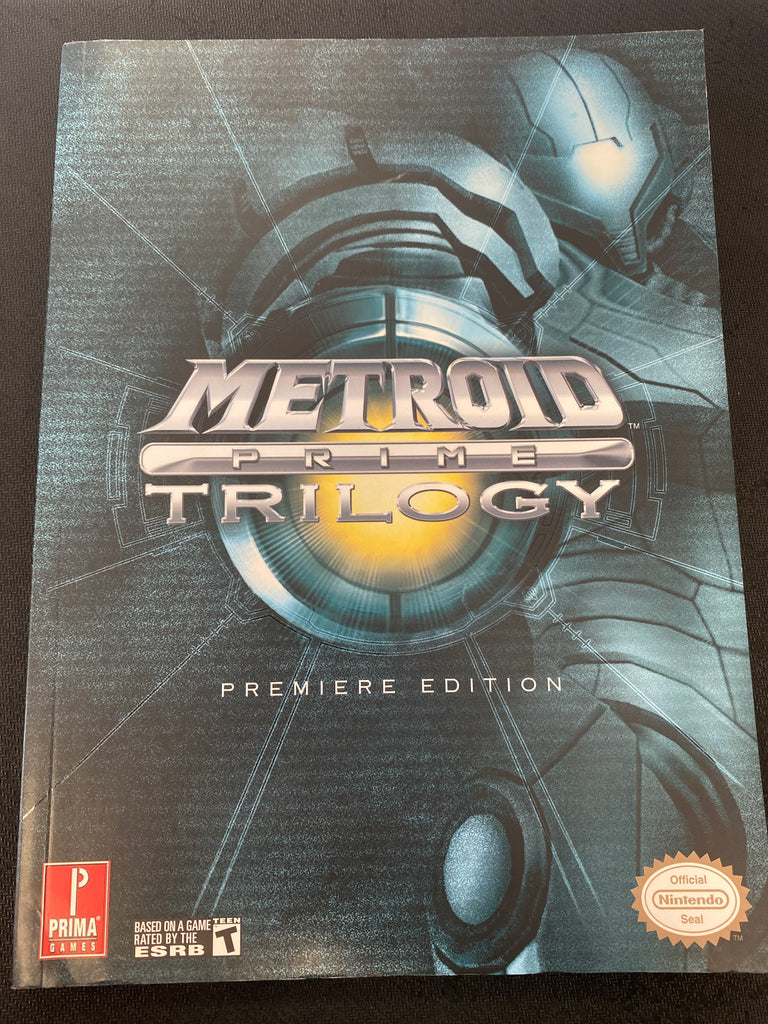 Wii: Metroid Prime Trilogy Guide (Premiere Edition)