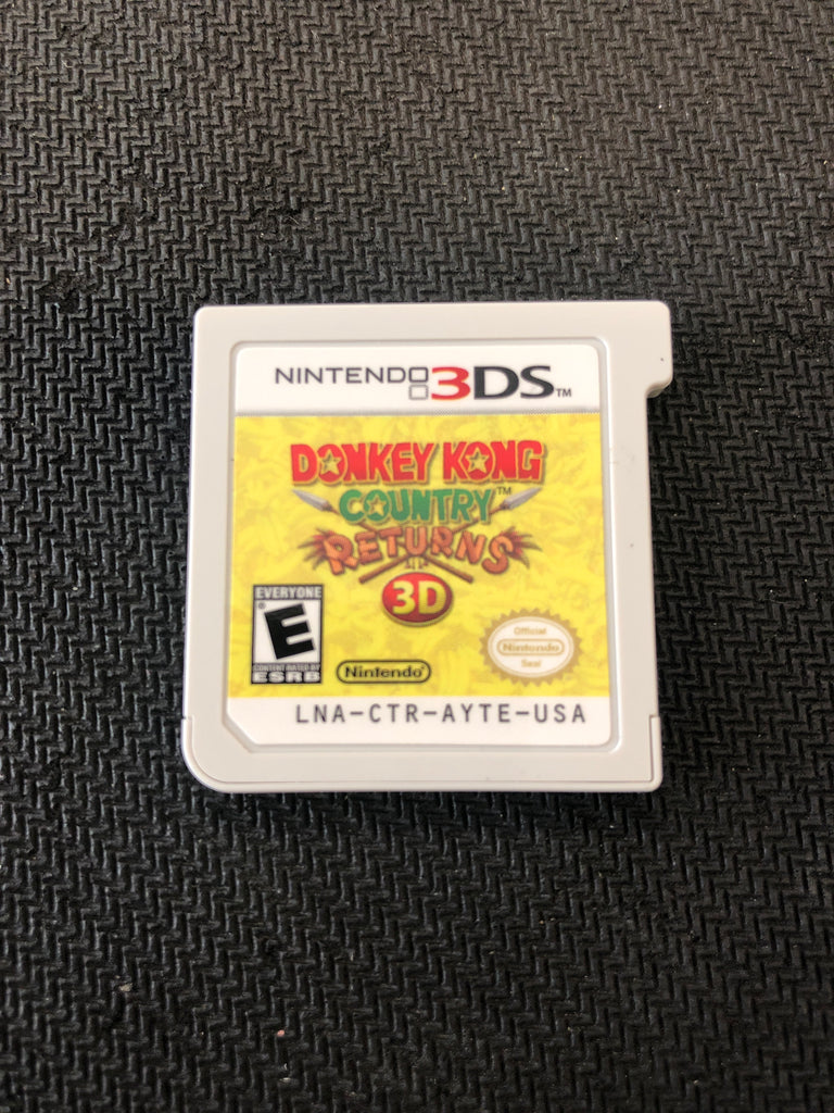3DS: Donkey Kong Country Returns 3D (Cartridge Only)