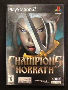 PS2: Champions of Norrath