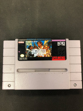 SNES: Uncharted Waters