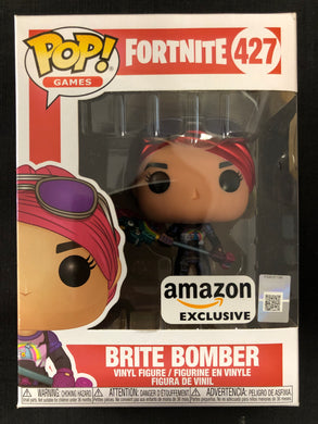 Funko Pop! Fortnite: Brite Bomber (Metallic) #427