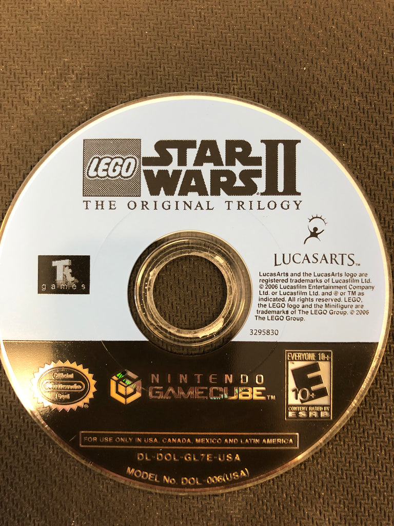 GameCube: Lego:  Star Wars II The Original Trilogy (Disc Only)