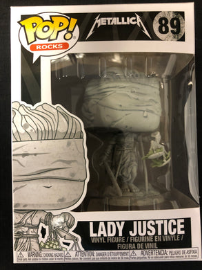 Funko Pop! Rocks: Lady Justice #89