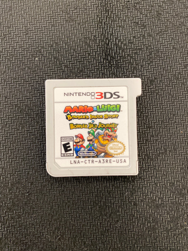 3DS: Mario & Luigi: Bowser Inside Story & Bowser Jr's Journey (Cartridge Only)