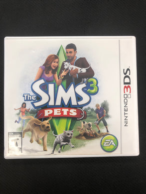 3DS: The Sims 3: Pets